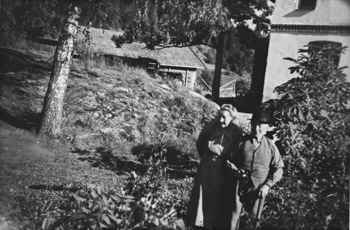 Konrad Jahrmann og Hilda Jahrmann