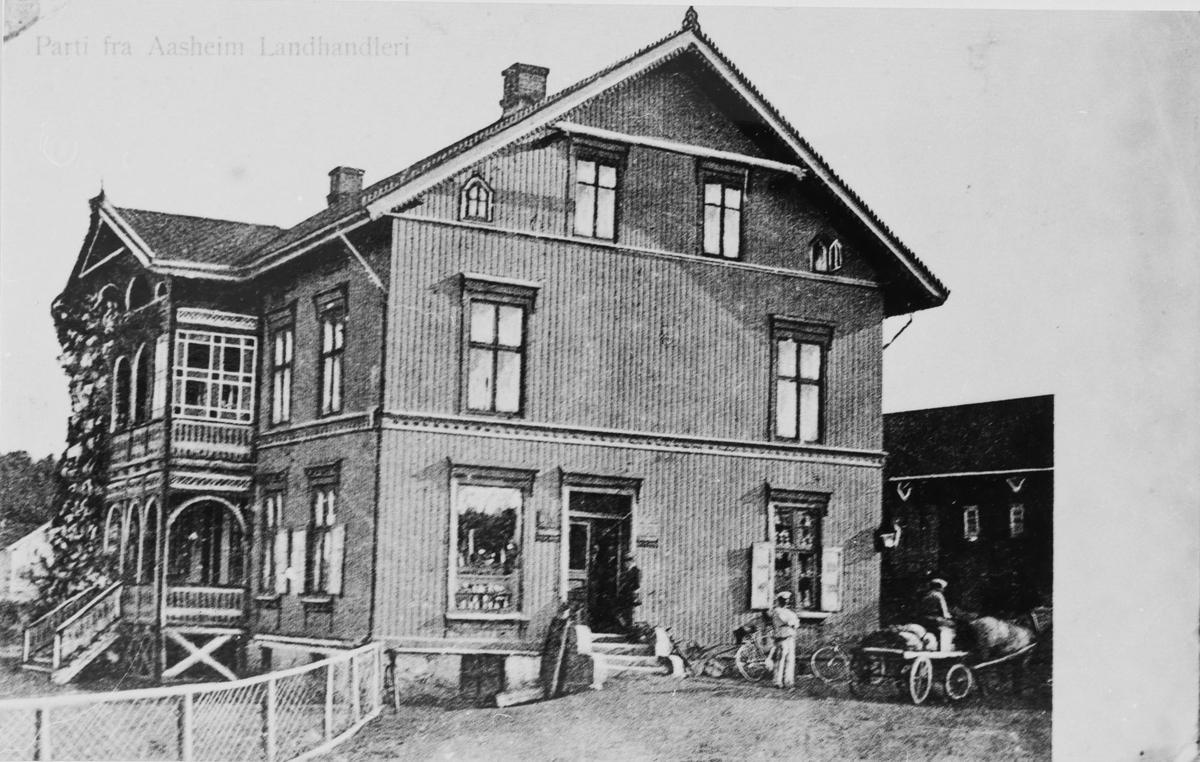 Åsheim landhandleri.