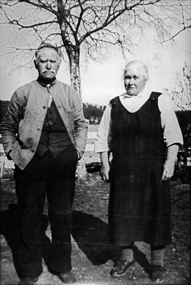 Martin Nilsen Vålerengen og hustru Syverina.