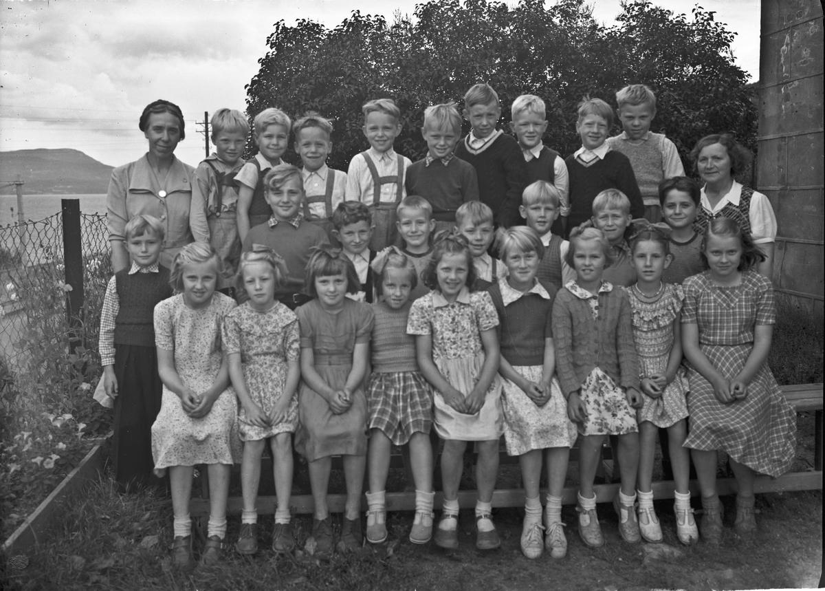 Ulvin skole på Morskogen (?).