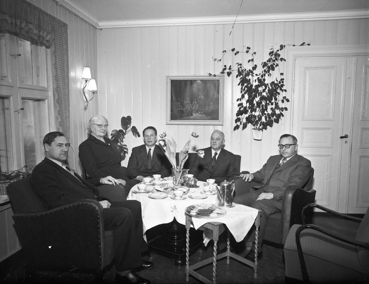 Bjerkely. 8. mars 1958.