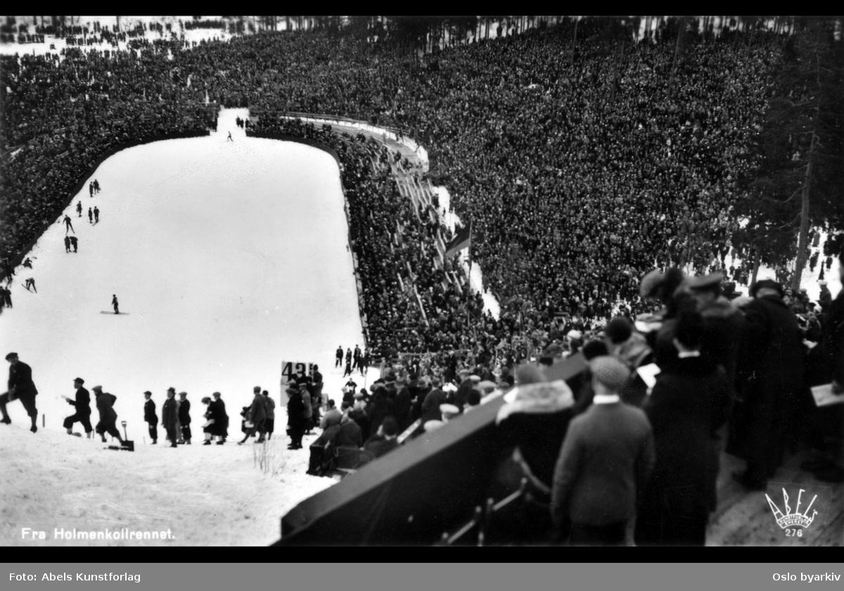 Publikum, unnarennet Holmenkollbakken, Holmenkollrennene