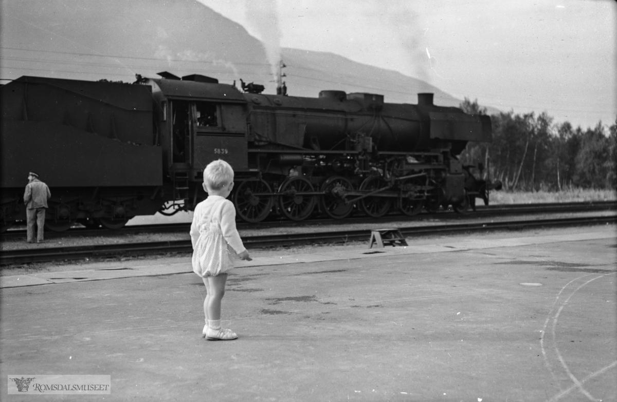 """""""Trondheimstur august 1953""""."""