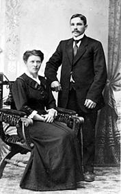 GRUPPE: 2, HELENE PALERUD FØDT: 1885, MARTIN PALERUD FØDT: 1889, NYHEIM UNDER MØYSTAD