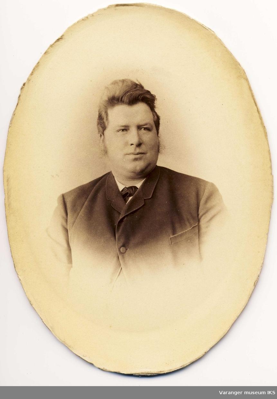 Portrett av Bastian Moe ca 1880-1890