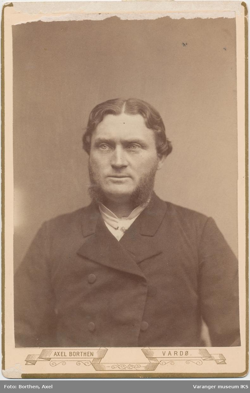 Portrett, Oscar Hansen, ca. 1890