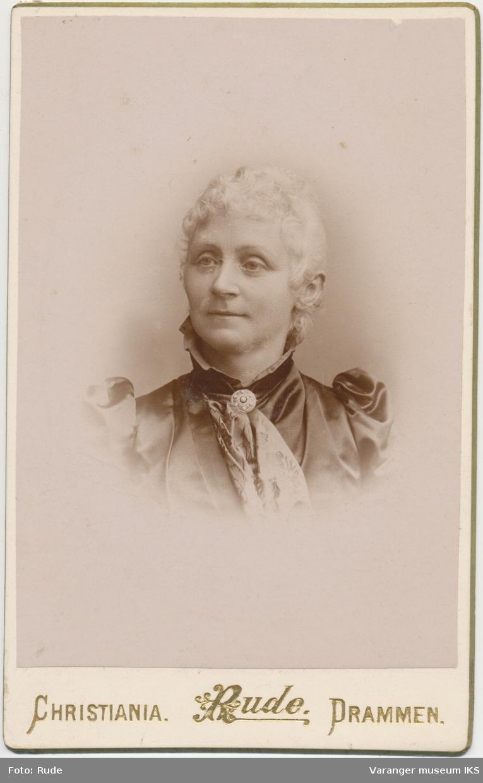 Portrett, Birgithe Jebe, 1892