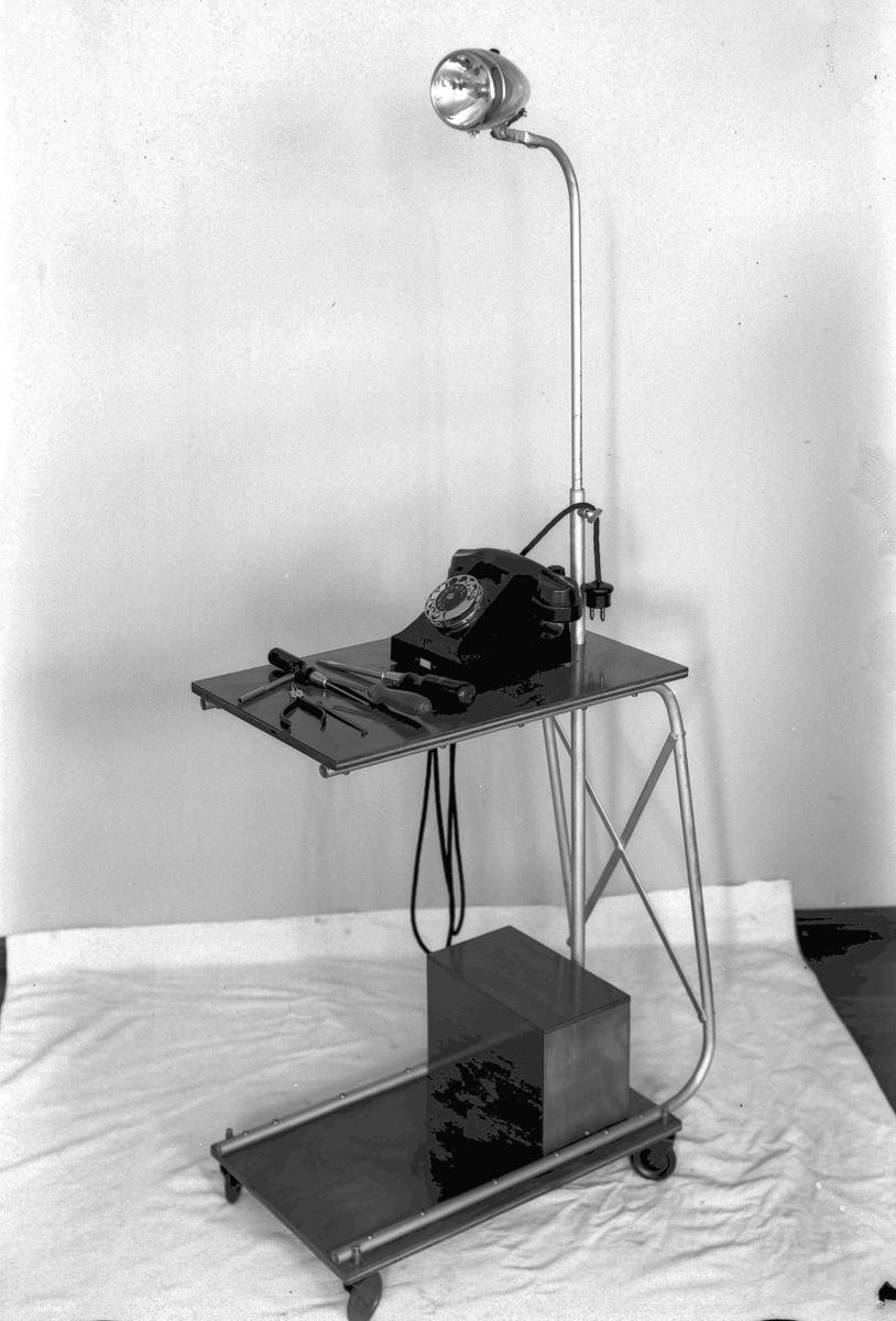 Telefon på rullebord