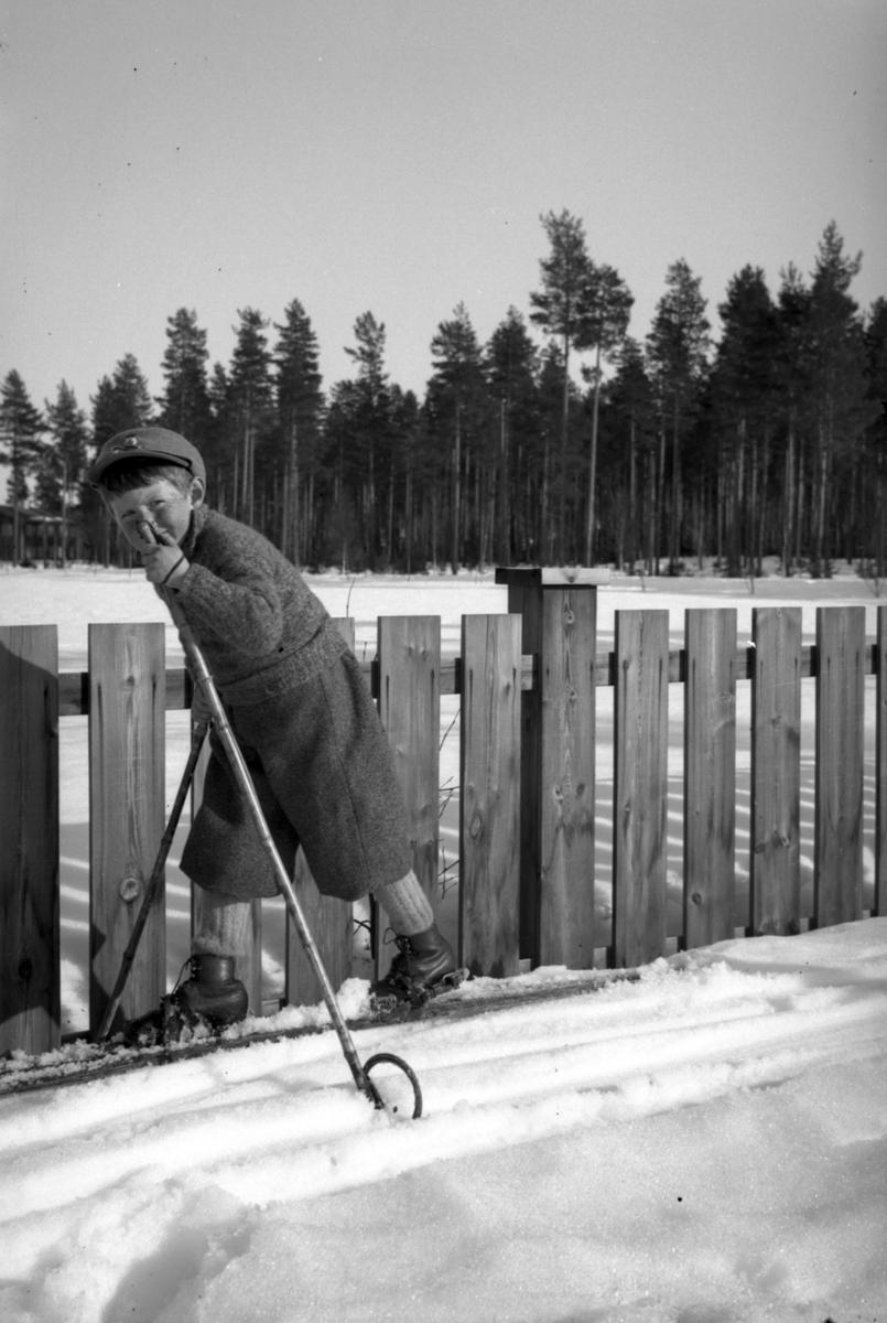 Gutt på ski