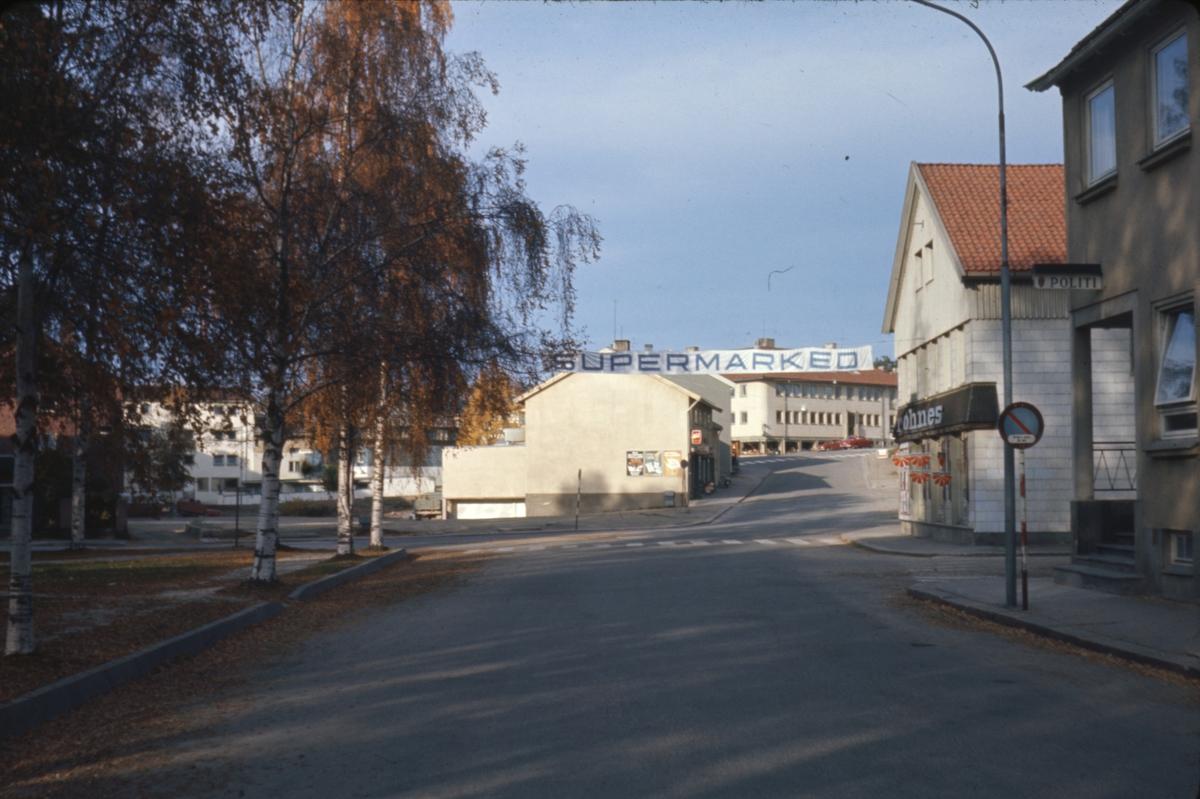 St. Olavsgate ved Triangelparken, Elverum.