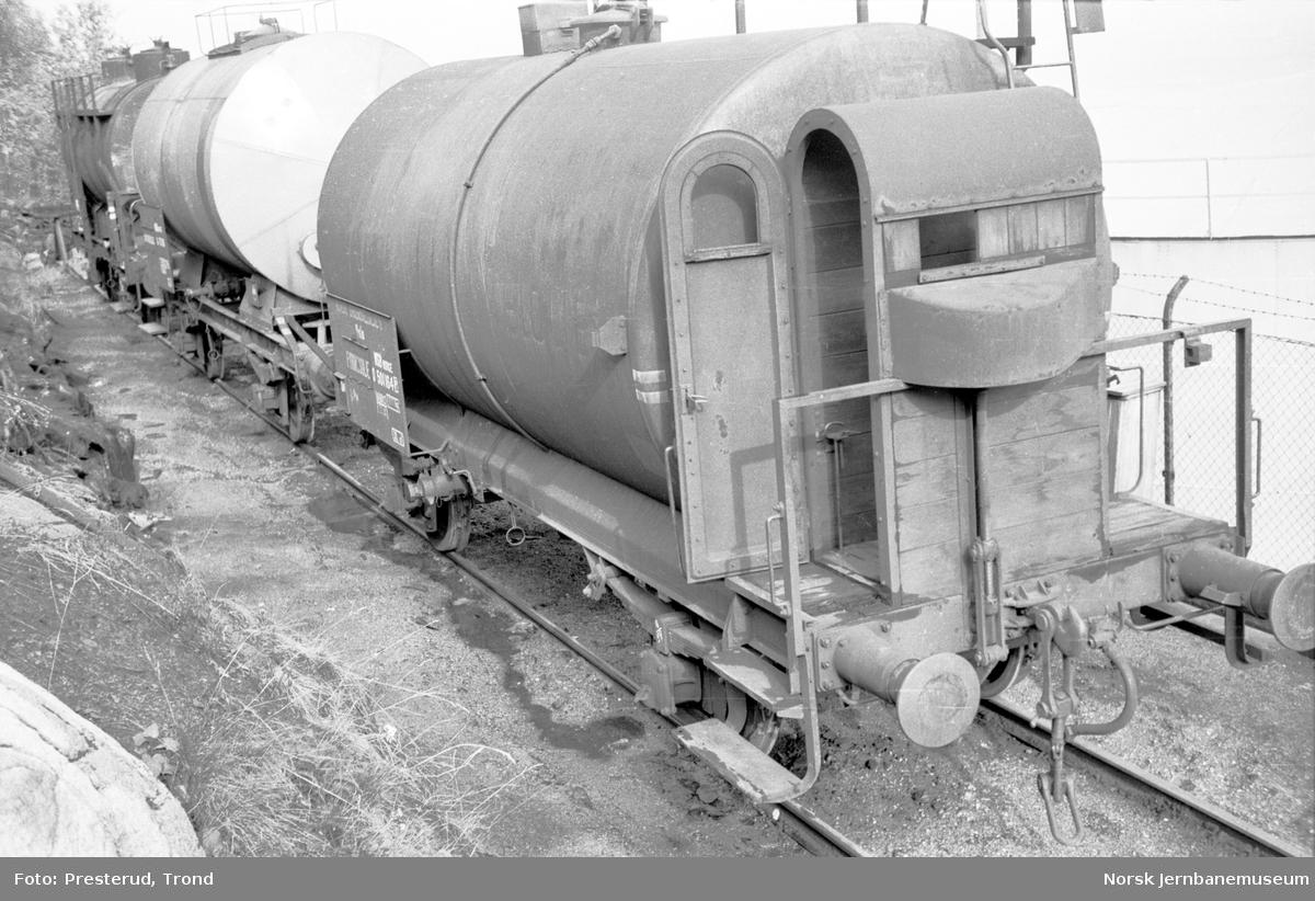 Tankvogn litra Q nr. 501164