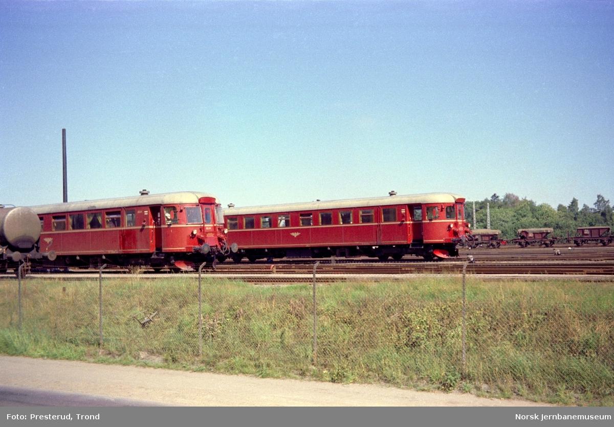 Dieselmotorvogner type 86 på Marienborg