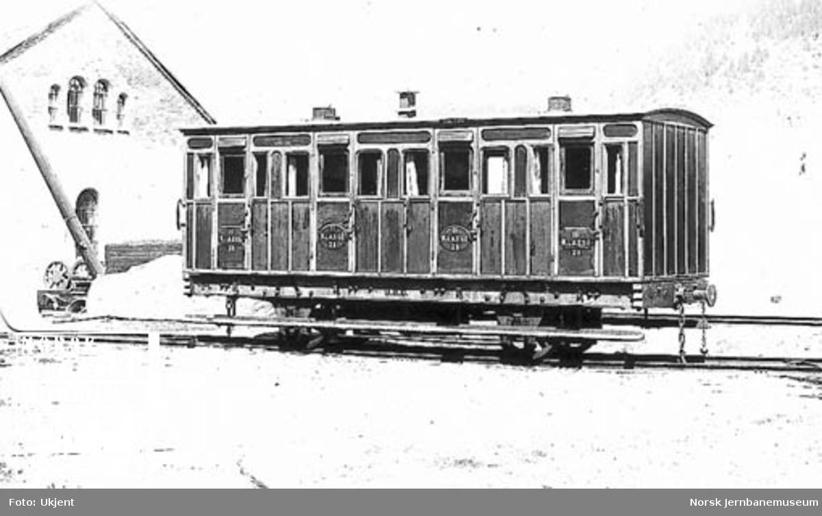 Randsfjordbanens personvogn litra BC nr. 2