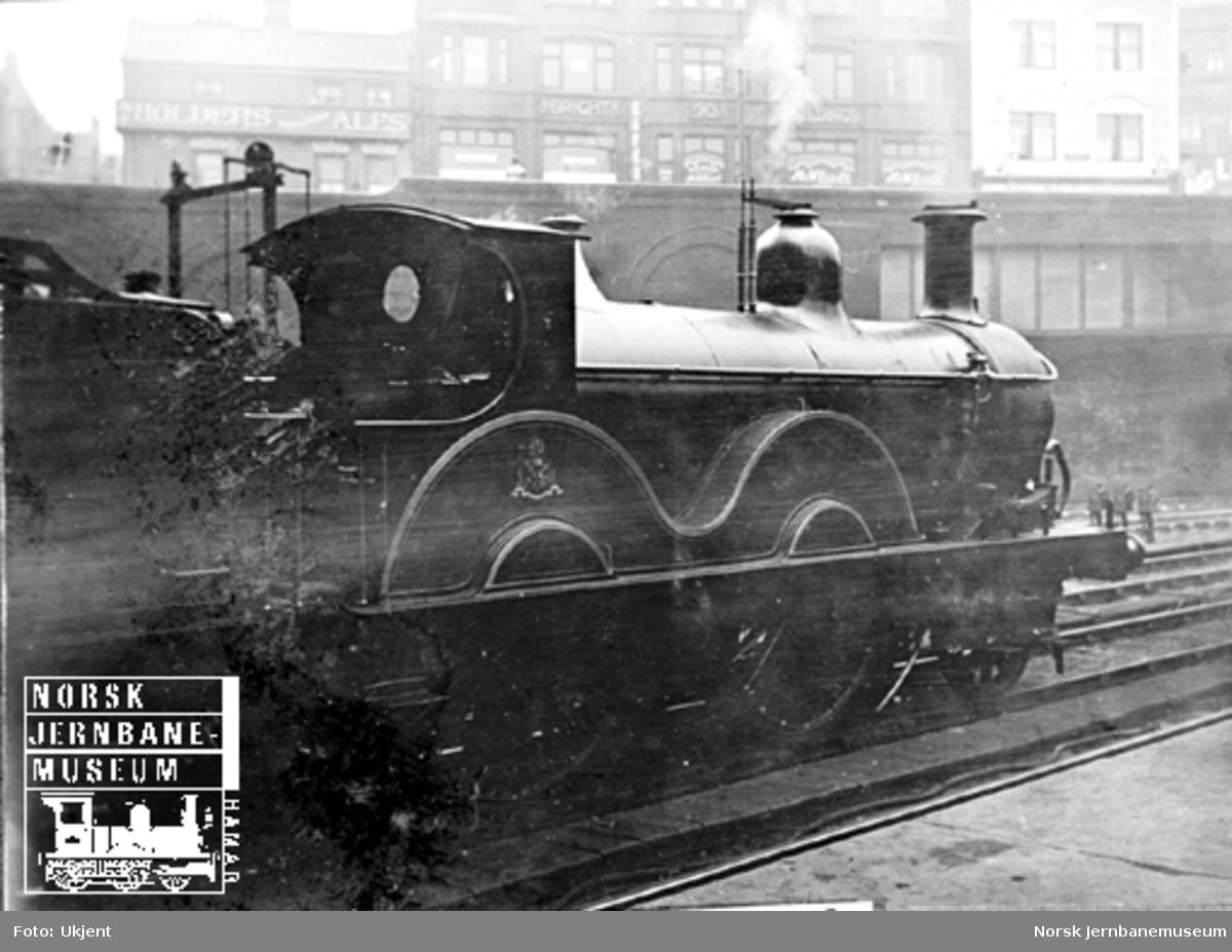 Midland Railway damplokomotiv ukjent nr.