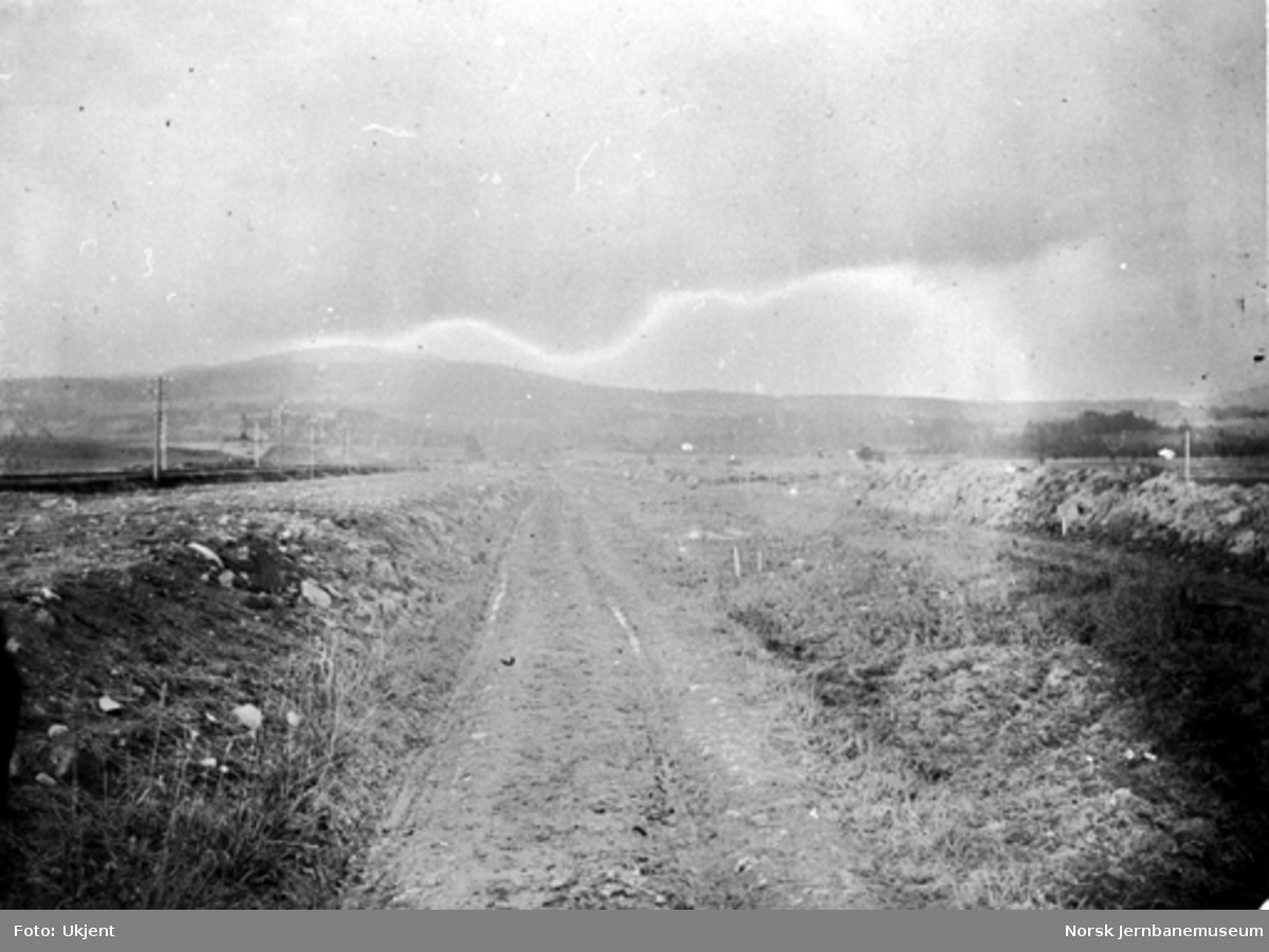 Alnasletten før jernbanens utbygging