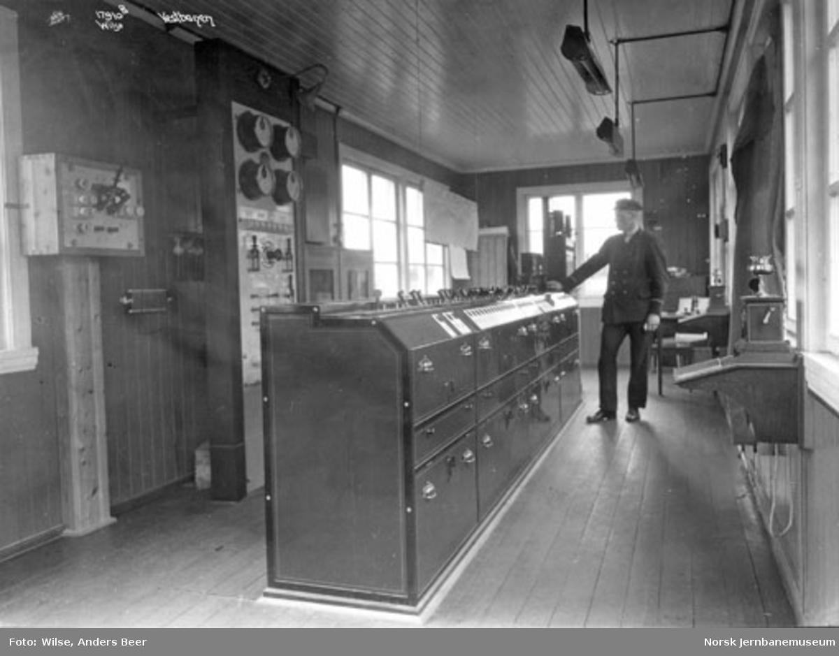 Sikringsanlegg Oslo V : stillverket Filipstad