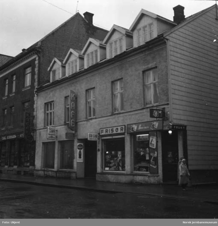 Jernbanens eiendom Norsenggården i Hamar