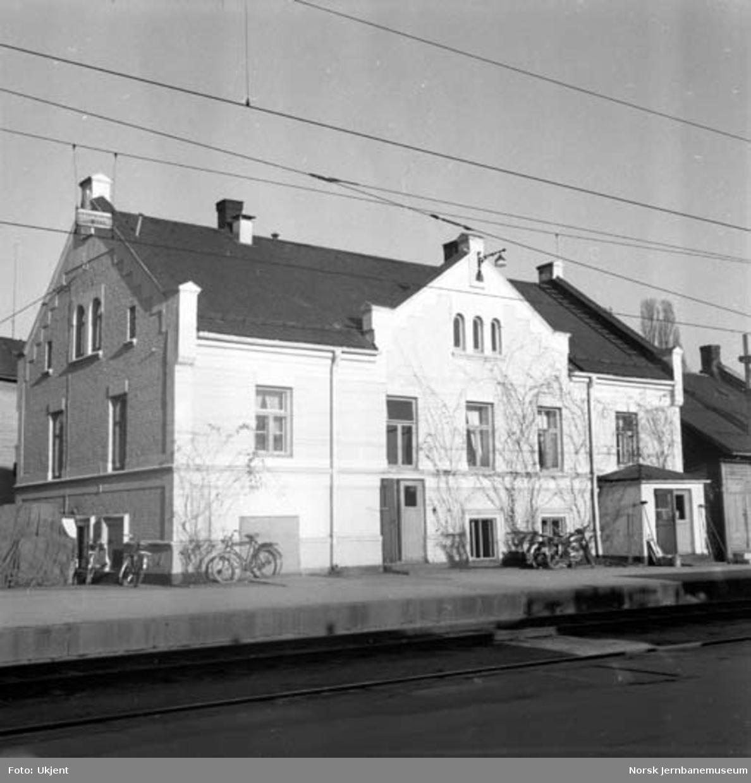 Hamar stasjon : driftsbygningen