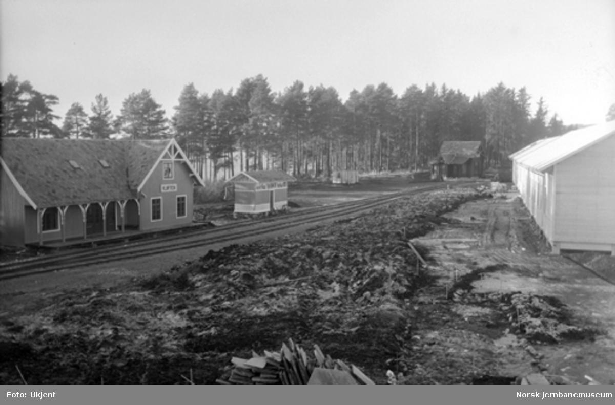 Nytt museum Martodden : Parken med Kløften og Ilseng stasjonsbygninger