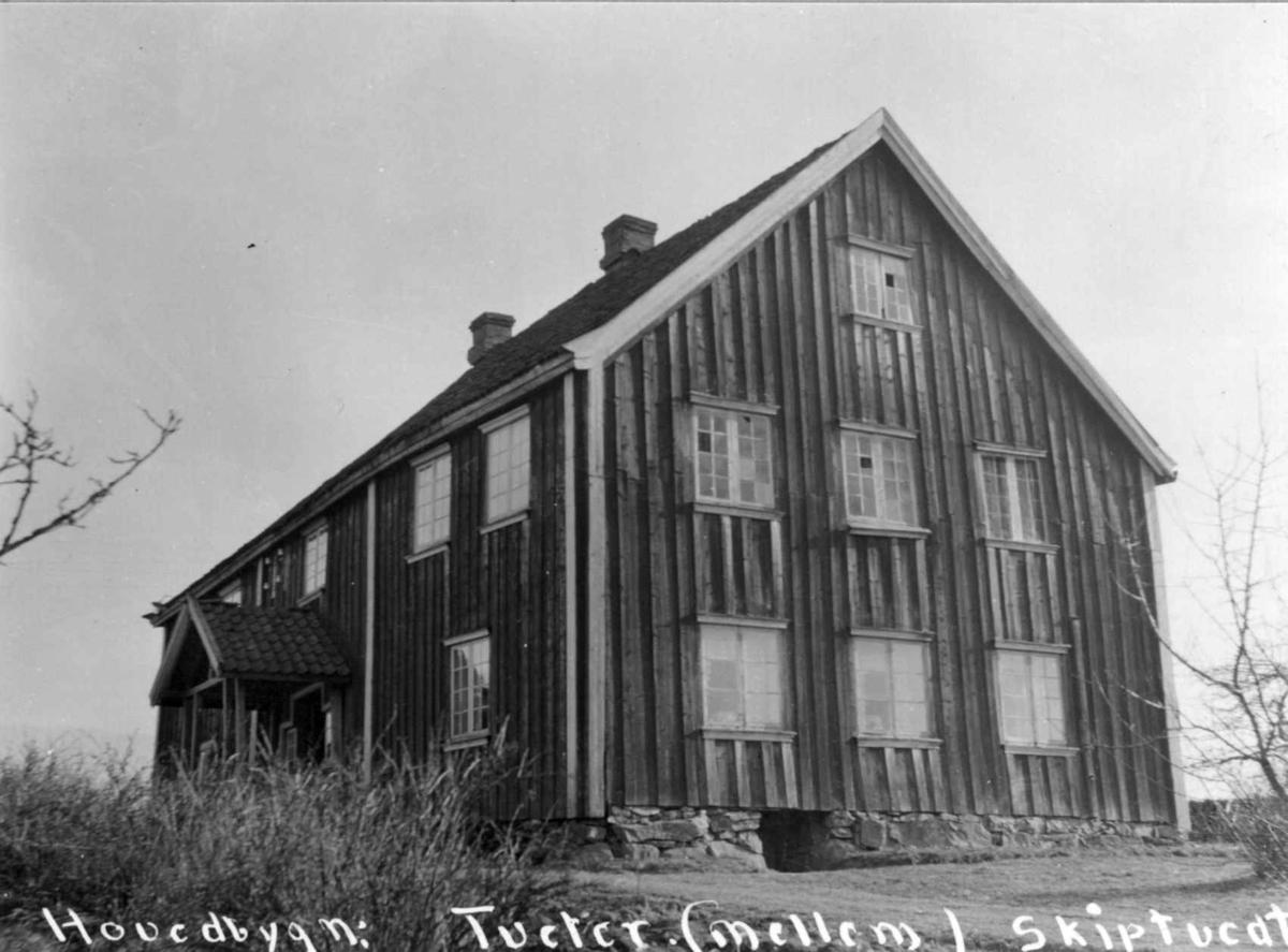 Tveiter, Mellom, Skiptvet, Østfold. Hovedbygning.