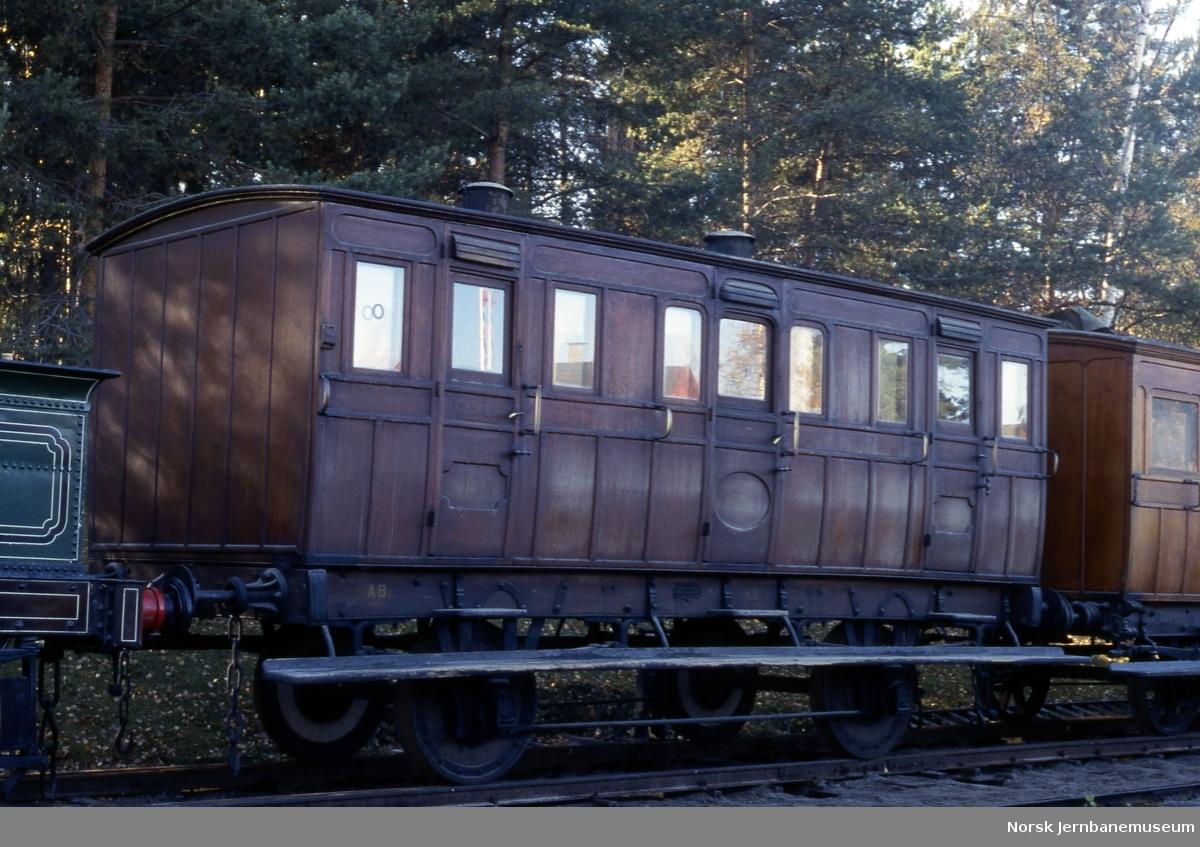 Smaalensbanens personvogn litra C nr 397