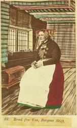 22. Brud fra Voss. (Bergens Stift).