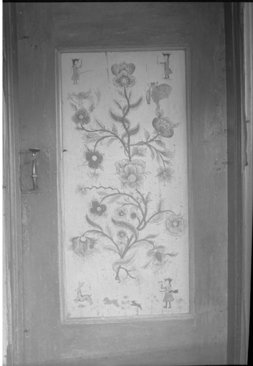 Dør, Dørrem, Vognill, Oppdal, Sør-Trøndelag. Ant. av Erik Horne i 1781. Fra album. Fotografert 1936.