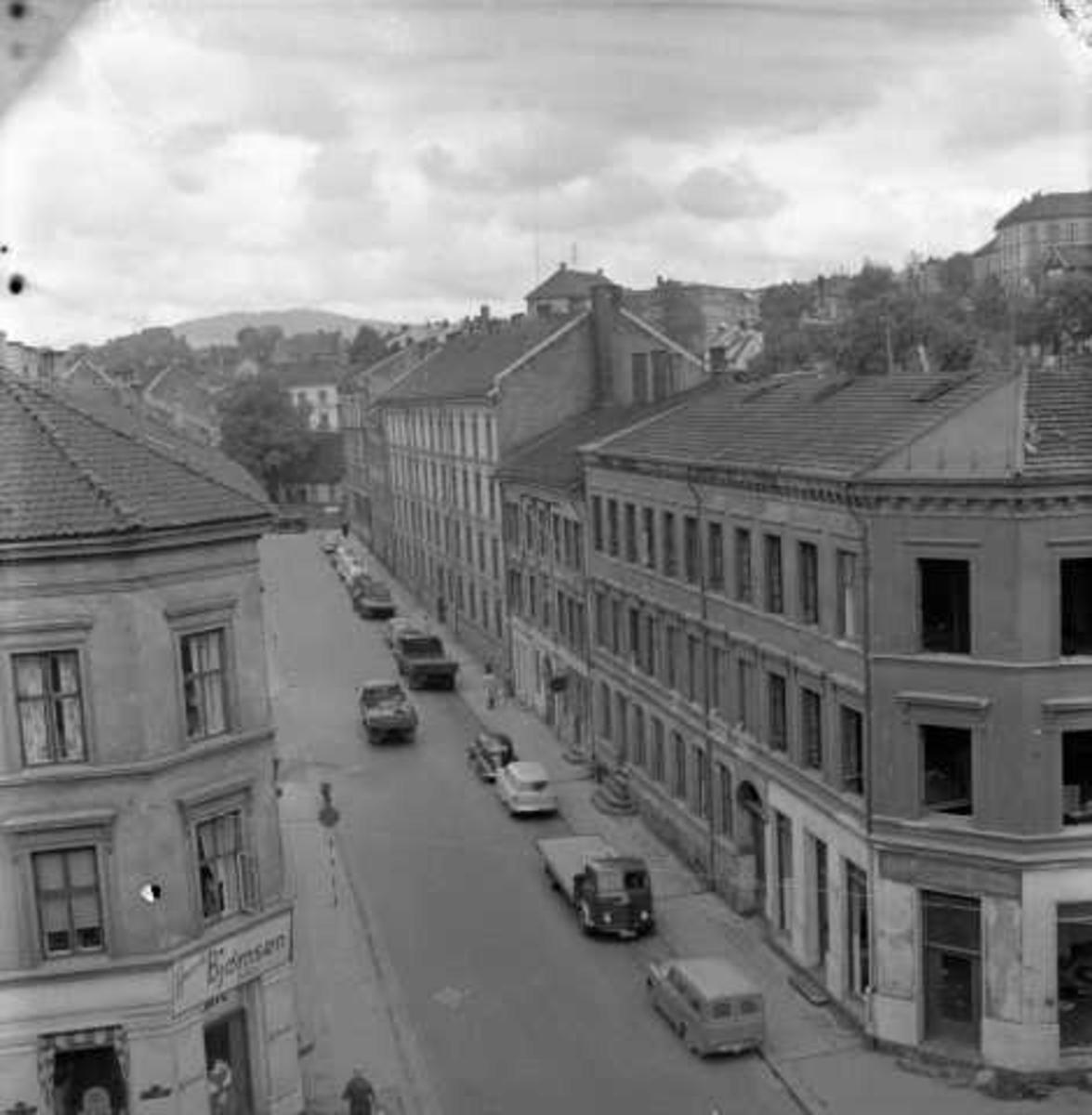 Hus blir revet, Grønland, Oslo 1956.