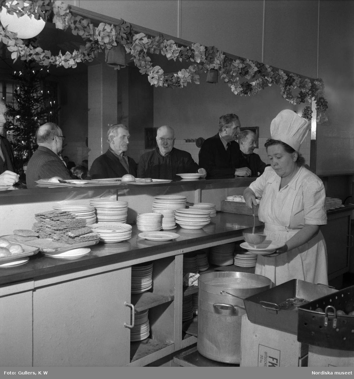 Matkö hos Stockholms Bespisningsförening, Malmgårdsvägen 18, Södermalm, Stockholm.