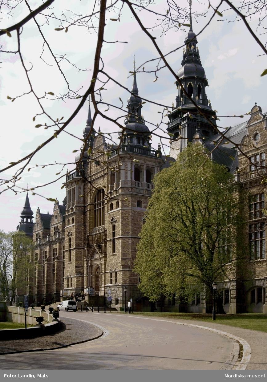 Nordiska museet, exteriör våren 2006