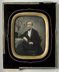 Porträtt av man, föreställer grosshandlare Gustaf Edvard Ott