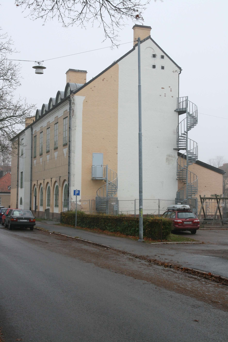 Sverkerskolan, annexet, vy från Ringgatan, kvarteret Sverker, Uppsala 2008