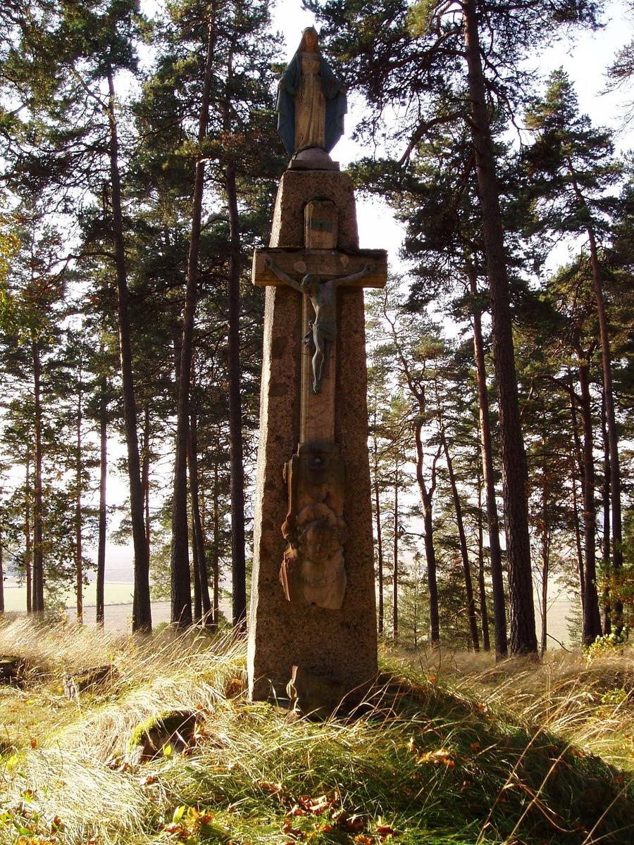 Kors i Göksbo fornlämningspark, Altuna socken, Uppland 2005