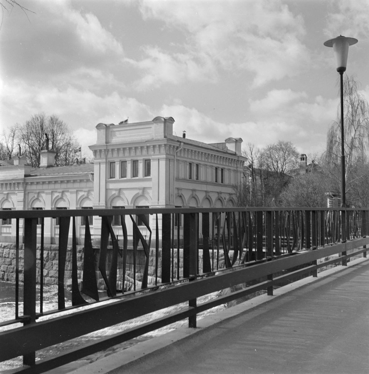 Islandsbron Och Pumphuset Uppsala Upplandsmuseet