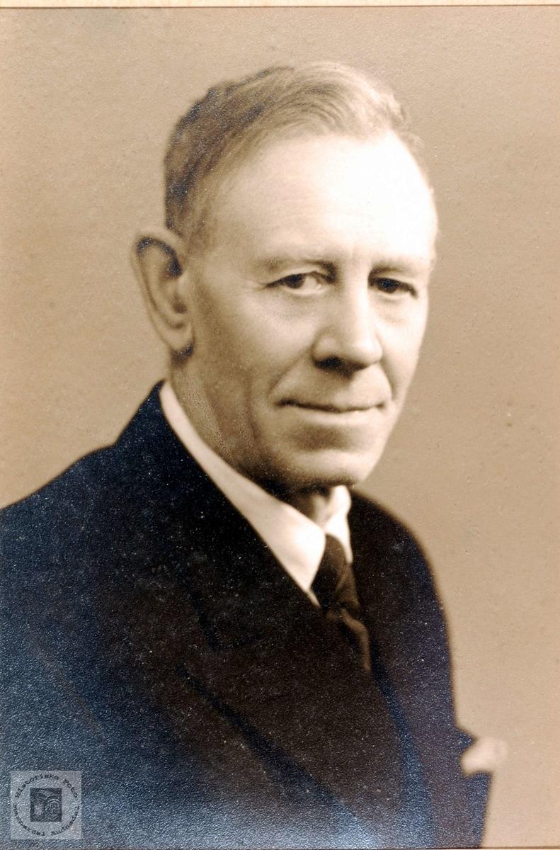Portrett av John Leland fra Grindheim.