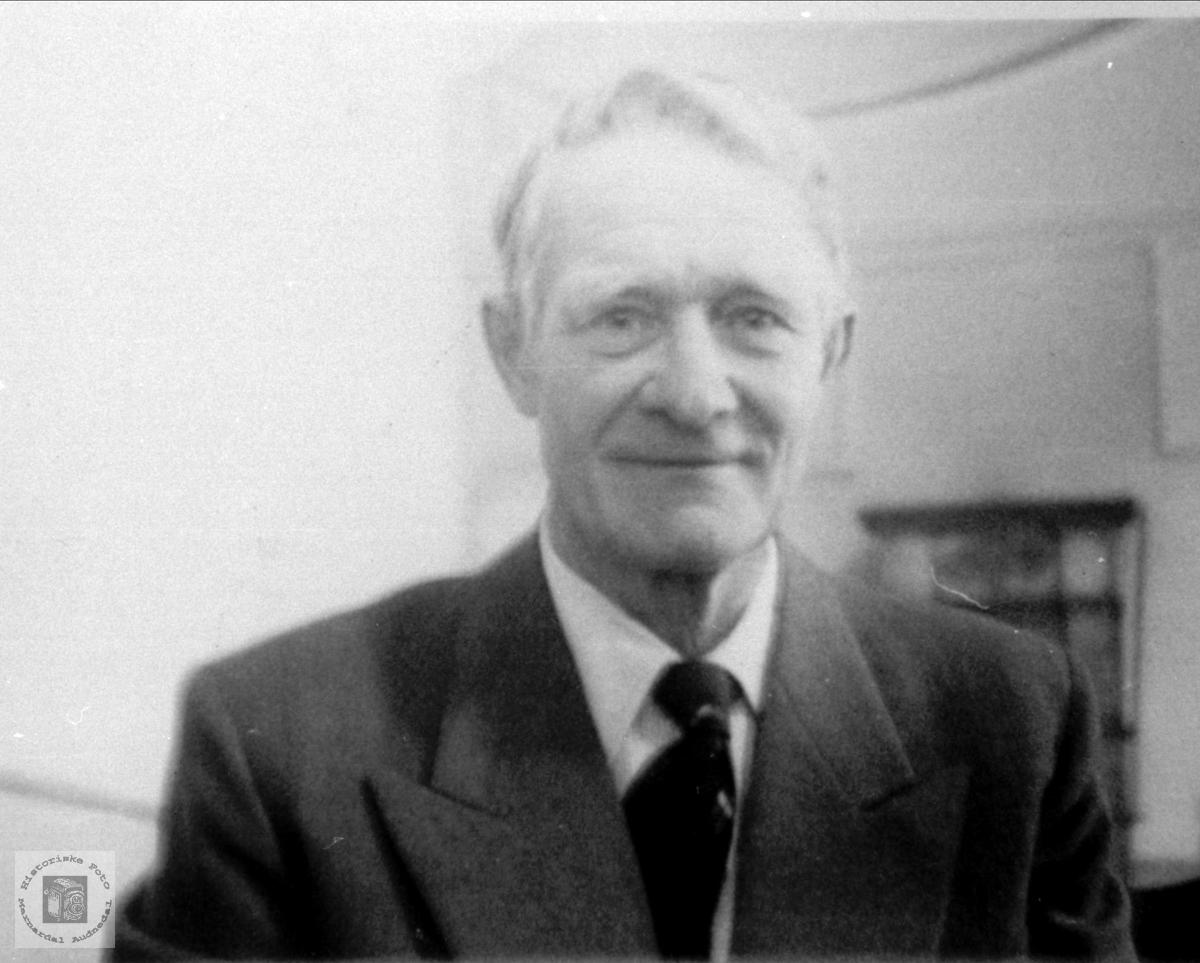 Portrett av Magnus Homme, Bjelland.