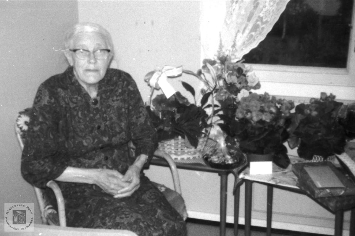 Portrett av Bjellands eldste i nyare tid (2006).