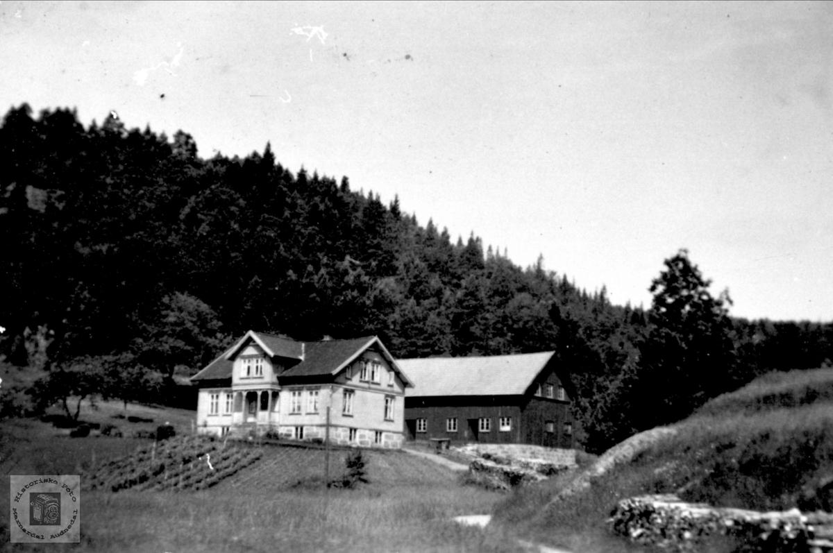 Gardsbruket Vollen på Gangså i Laudal.