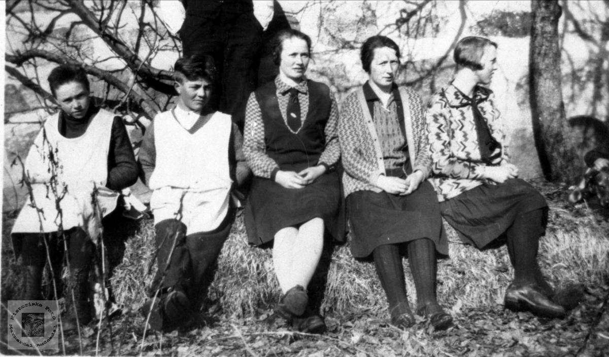 Gruppe Fuglestveit, Helleren Kristiansen, Egeland og Kleveland.
