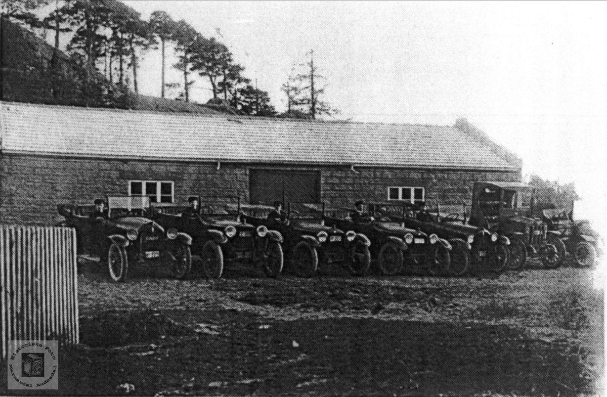 Opplandsrutas busser i 1921
