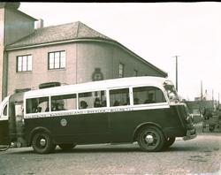 Rutebil i Haugesund Sunnhordland Ryfylke Billag A/S. Innmont