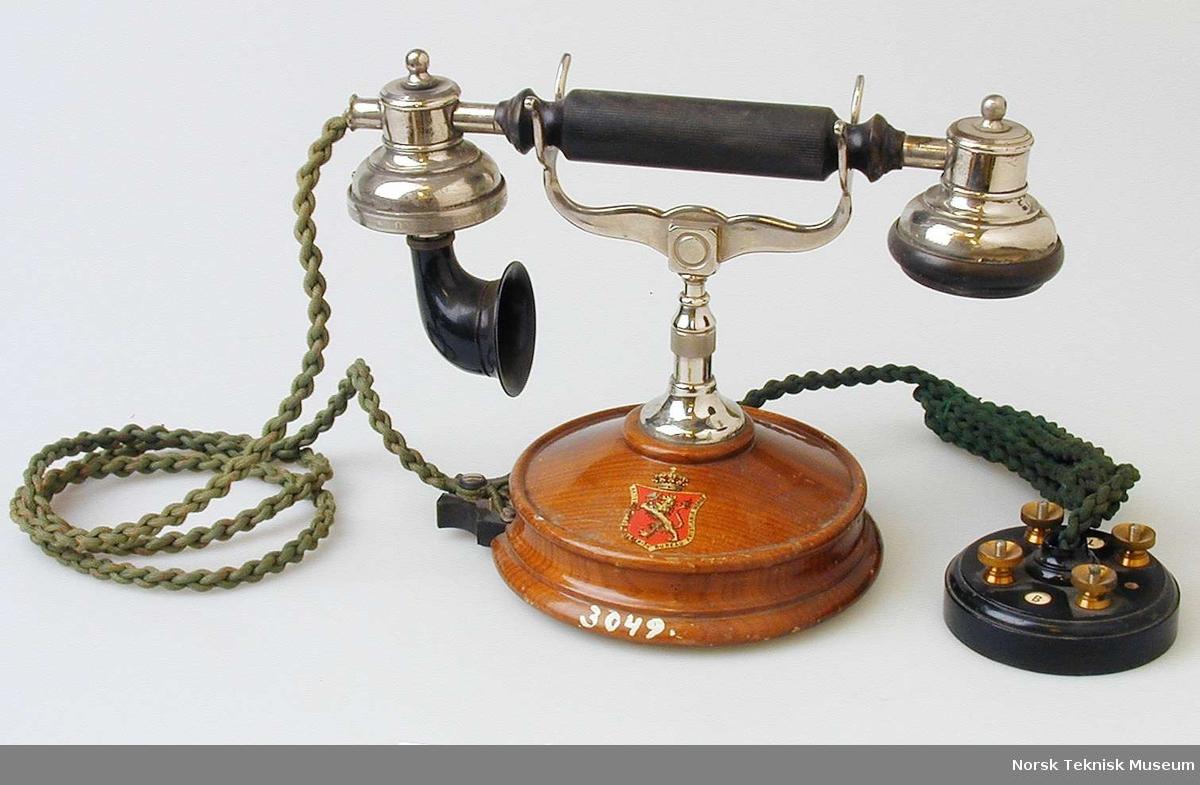 Telefonapparat Norsk Teknisk Museum DigitaltMuseum