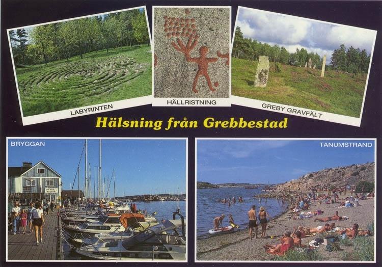 """""""Hälsning från Grebbestad""""."""