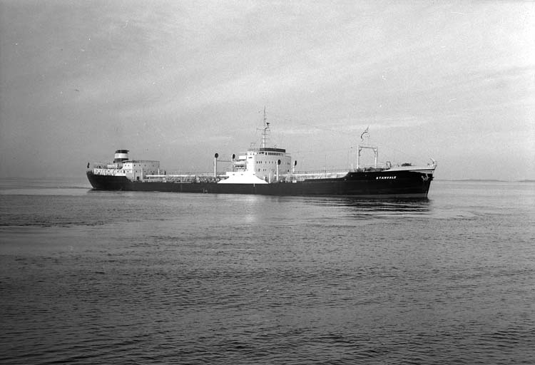 M/T Stanvale DWT.19.020 Rederi Stanhope SS Co Ltd, London Kölsträckning 56-07-14 Nr. 160 Leverans 57-02-28 Tankfartyg