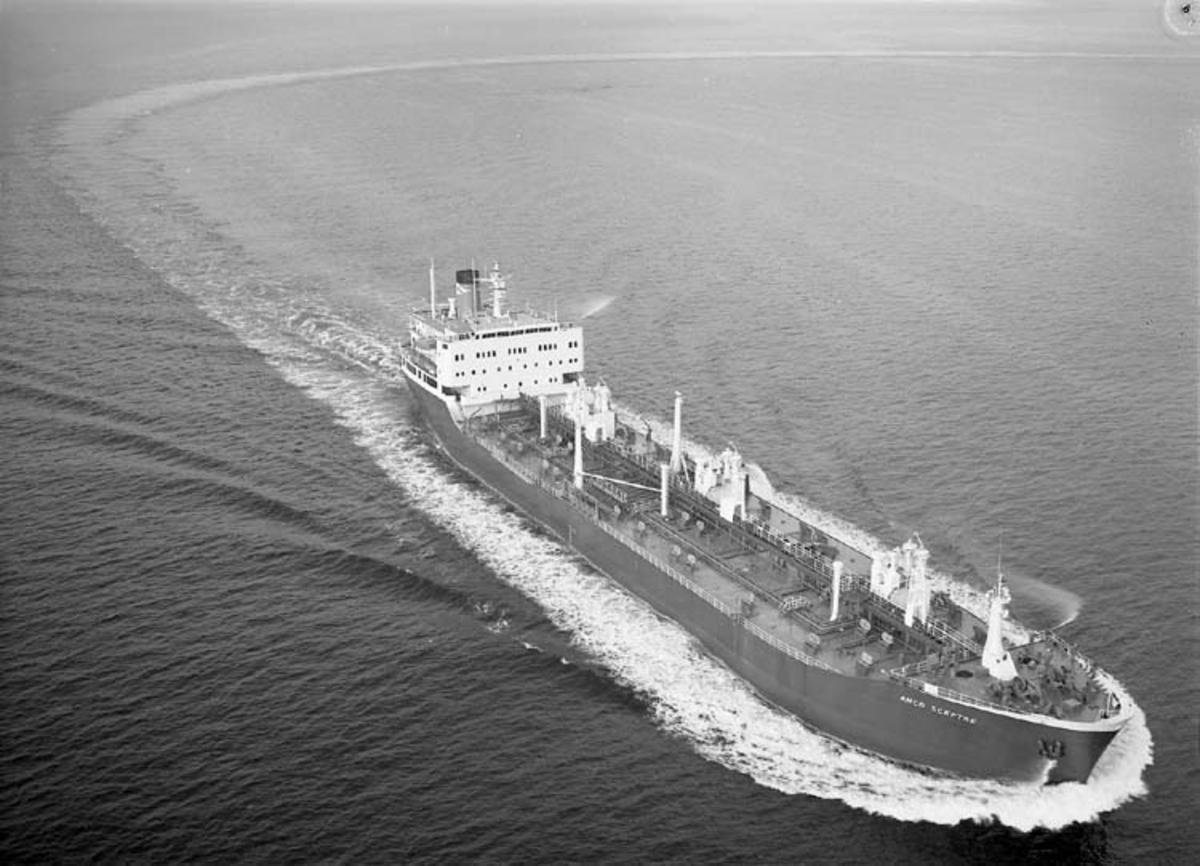 M/T Anco Sceptre DWT. 23.840 Rederi Athel Line Ltd., London England Kölsträckning 71-03-01 Nr. 240 Leverans 71-11-01 Tankfartyg