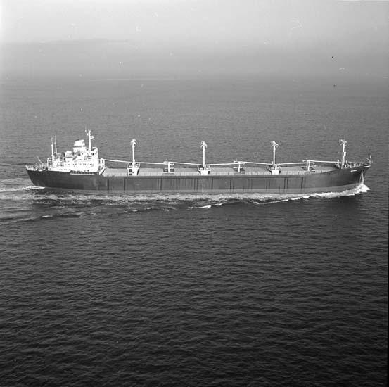 B/C Gausdal DWT. 30.780 Rederi Boe & Pedersen, Oslo Norge Kölsträckning 65-01-25 Nr. 270 Leverans 65-11-16 Bulkfartyg