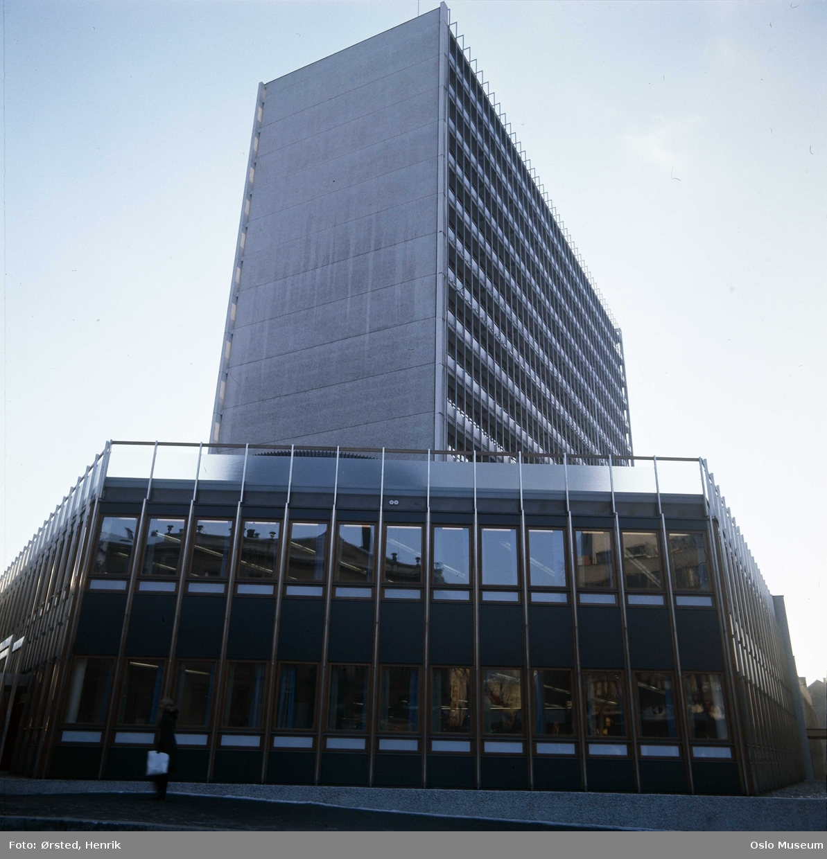 kontorbygning, Teledirektoratet, høyblokk, lavblokk