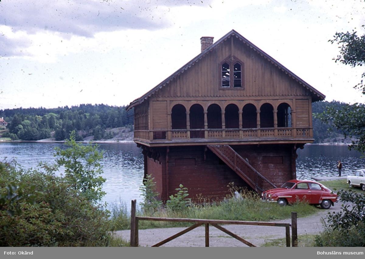 Torreby badhus vid Färlefsfjorden
