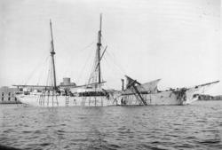 Norska haveristen ALRANA vid Marstrand år 1900