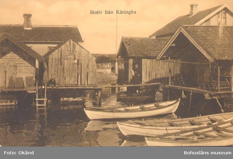 Norska snipor på Käringön.